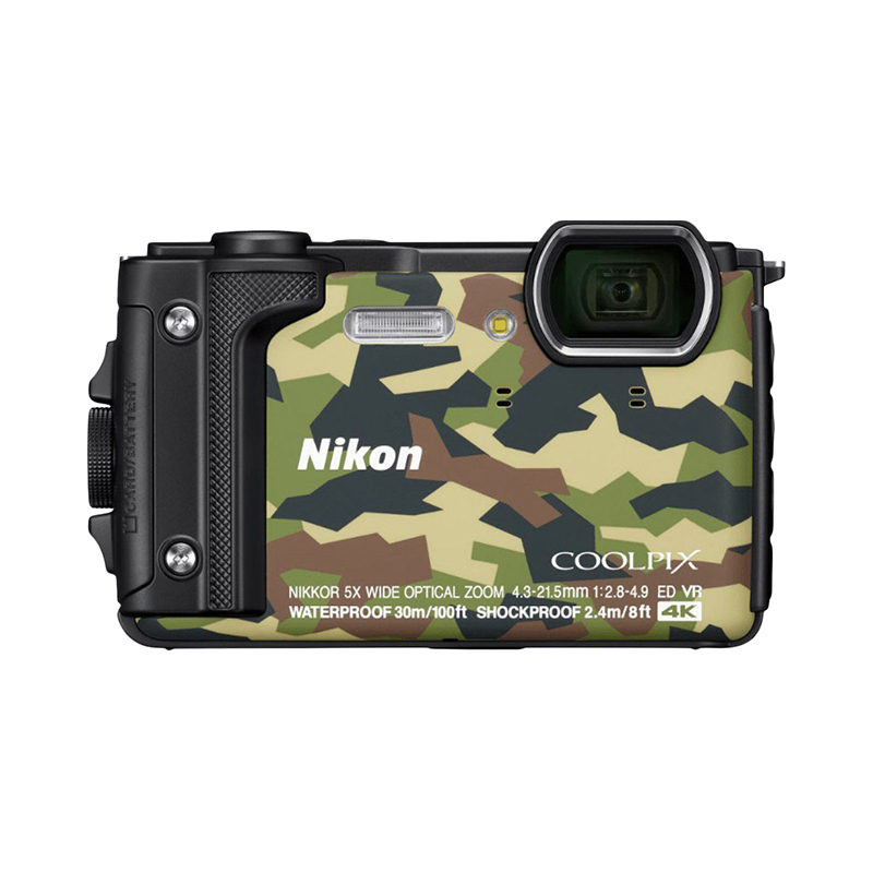 Point & Shoot Camera Nikon COOLPIX W300 Camouflage