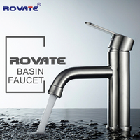 Face Basin Faucet 304 Stainless Steel Wire Bathroom Cabinet Washbasin Toilet Bend Of The Basin Tap