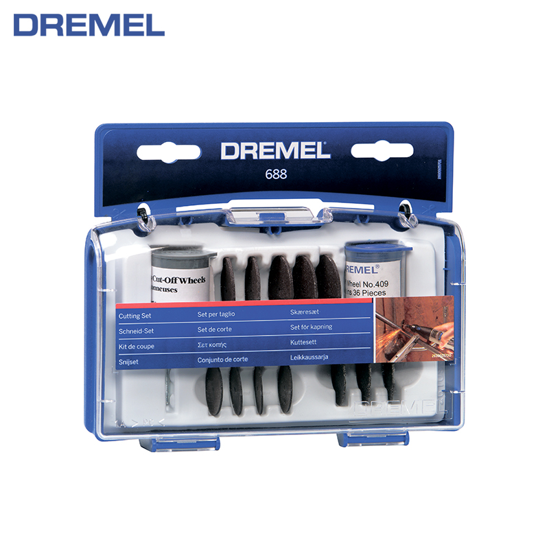 Cutting set Dremel 69 pc cutting disc tools set circle cutting nozzle 6 pcs woodworking wood drill bit set high speed milling cutter carving dremel hss diy tools clh 8