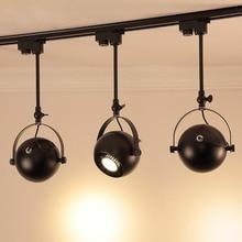 цена на E27 LED Track Light 5W 10W 15W COB Spotlight Exhibition Light For Commercial Industrial Lighting White/Warm White Lighting Bulb