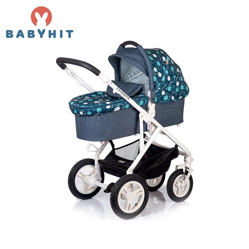 Four Wheels Stroller BabyHit FAVORITE 2 (2 in 1) Kidstravel babyhit babyhit ходунки first step зеленые