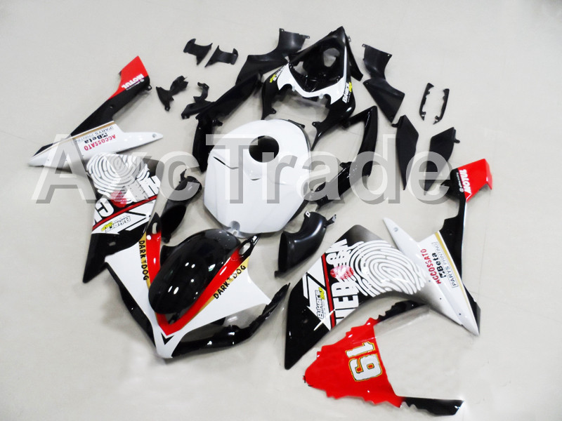 Motorcycle Fairings Fit For Yamaha YZF R1 YZF 1000 YZF-R1000 YZF1000 2007 2008 07 08 ABS Injection Fairing Bodywork Kit No19 014 for yamaha yzf 1000 r1 2007 2008 yzf1000r inject abs plastic motorcycle fairing kit yzfr1 07 08 yzf1000r1 yzf 1000r cb02