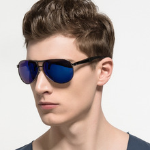 Retro Fashion Sunglasses Polarized Mirror Pilot Style Yurt Sunglasses