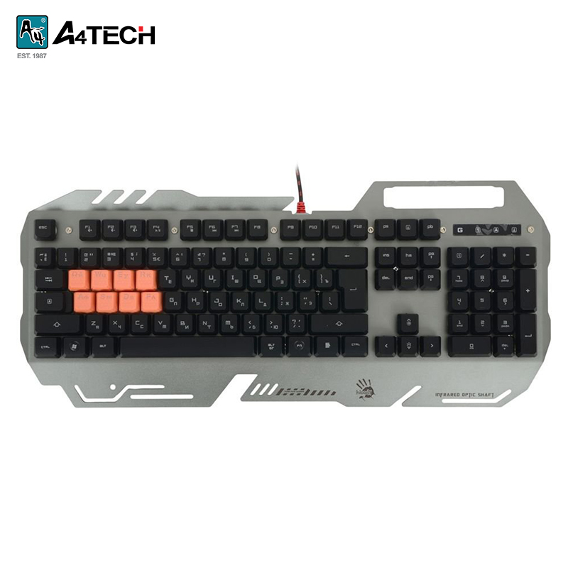 Gaming keyboard A4Tech Bloody B418 Officeacc gaming keyboard a4tech bloody b254 officeacc