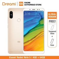 Global Version Xiaomi Redmi Note 5 64GB ROM 4GB RAM (OFFICIAL ROM) redmi note5