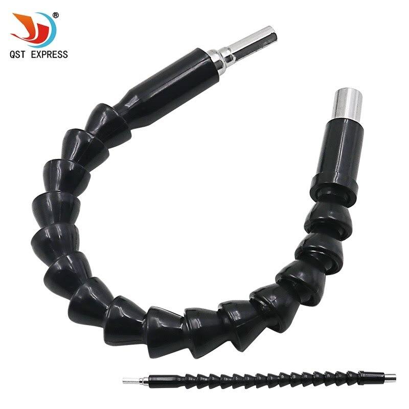 QSTEXPRESS Удлинительный вал для электродрели 1/4 6,35 мм