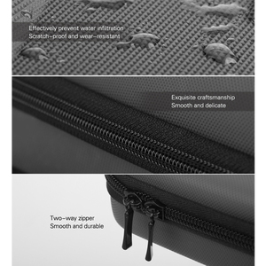 Image 4 - Osmo Bolsa de almacenamiento de bolsillo para Estuche portátil PU, bolsa de amortiguador impermeable, filtro, caja de piezas de repuesto para DJI Osmo Pocket, cámara deportiva