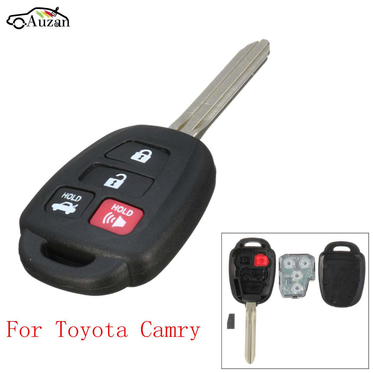 4 button 315hmz keyless entry remote key fob hyq12bdm uncut for toyota camry 2012 2013