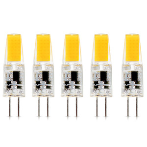 5Pcs/lot G4 AC DC 12V Dimmable