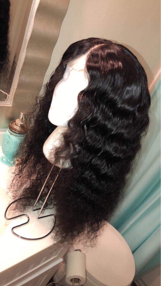 Satai бразильский глубокая волна 3 Связки с закрытием Топ человеческих волос пучки с закрытием Бразильский Пучки Волос Плетение не Волосы remy