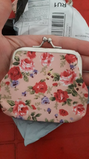 Fashion Small Canvas Purse Zip Lady Coin Purse Bag Women Lady Retro Vintage Flower Small Wallet Hasp Purse Clutch Carteira #A9 photo review