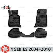 Коврики для BMW 1 серии 2004-2010 коврики Нескользящие полиуретановые грязезащитные внутренние аксессуары для стайлинга автомобилей