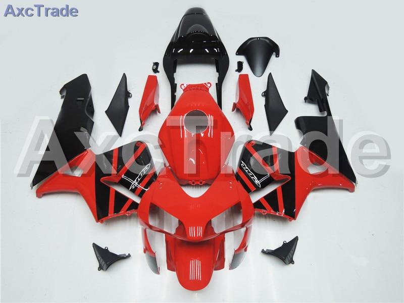 Мотоцикл Обтекатели для Honda CBR600 ЦБ РФ 600 CBR600RR 2003 2004 03 04 Ф5 ABS пластичная впрыска Обтекателя Kit Кузов красный черный