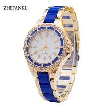 Erkek Kol Saati Colorful Womens Mens Stylish Fashion Watch Roman Numberals Stainless Steel Big Dial Watch