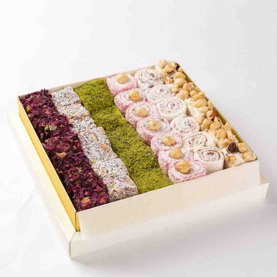 ใหม่! ผสม Sultan Turkish Delight 1000gr (35 oz) % 100 ORIGINAL