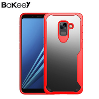 Bakeey For Samsung Galaxy A8 2018 Luxury Air Acrylic Transparent TPU Case Fitted Cases Ultra Thin