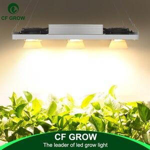Image 1 - 디 밍이 가능한 크리 어 CXB3590 300W COB LED 성장 빛 전체 스펙트럼 Vero29 시민 LED 성장 램프 실내 식물 성장 조명