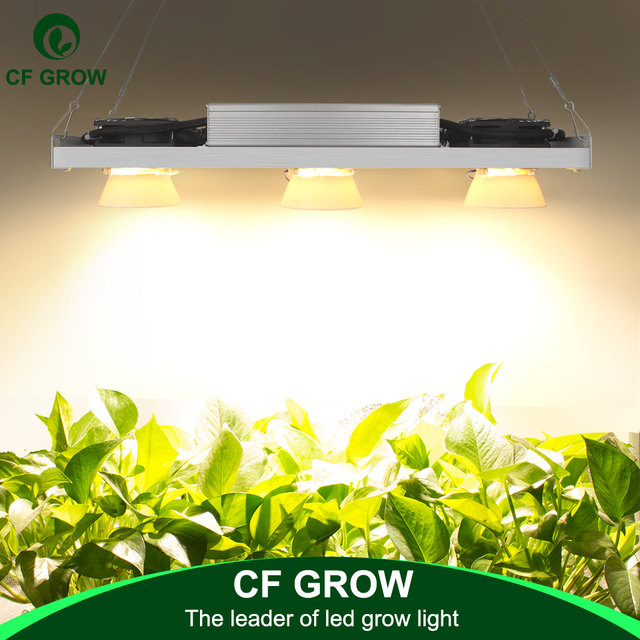 Dimmable CREE CXB3590 300W COB LED לגדול אור ספקטרום מלא Vero29 אזרח LED גידול מנורה מקורה צמח צמיחת תאורה