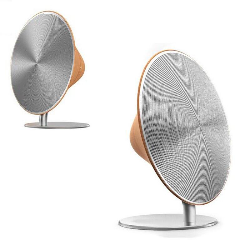 Gratis Verzending Bluetooth Speaker NFC Subwoofer Hoge Kwaliteit Creative Houten High Power Mini Draadloze Sonic - 2