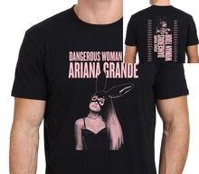 Summer Style T Shirt Short Men Ariana Grande Dangerous Woman O-Neck Tall T  Shirt 3e0cebff431c
