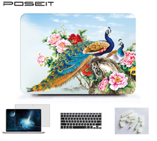 For Apple MacBook Air 11 A1370 A1465 Retina 12 13Touch Bar 13Matte Hard Case Cover+Keyboard Cover+Screen protector+Dust Plugs oil painting pattern hard pc shell cover for macbook air 11 inch a1370 a1465 5 petal flowers