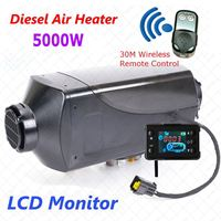 5KW 12 볼트 공기 디젤 히터 주차 히터 원격 Riscaldatore LCD 모니터 자동차 히터