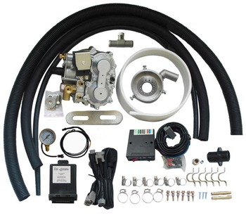 Methane CNG Aspirated System Conversion Kit for EFI and Carburetor Cars