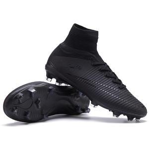 9484c589b4 FANCIHAWAY 2018 Men Soccer Shoes Cleats FG Outdoor Kids Football Boots