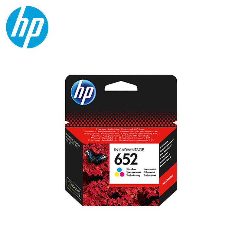 Cartridge HP 652 Tri-colour (F6V24AE) картридж hp 652 f6v25ae