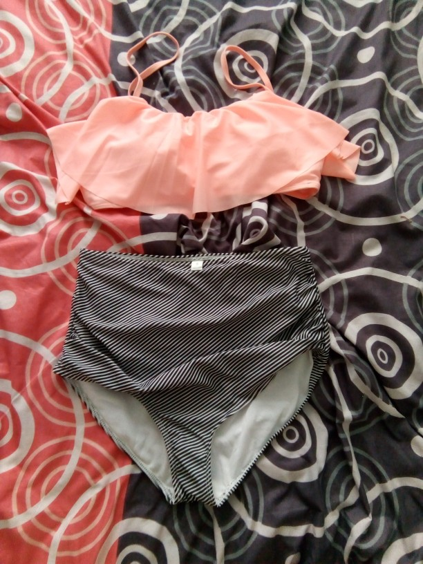 2018 Summer New Crop Top Sexy Bikini Set Women Swimsuit Female Swimwear Plus Size Adjustable Strap Push Up Bathing Suit Beach