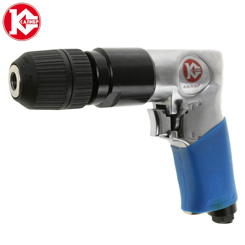 Kalibr PD-6.3/114R+ Pneumatic Air Screwdriver Pneumatic Air Drill Pneumatic Tool pt1 4 2 way normally closed pneumatic aluminum electric solenoid air valve