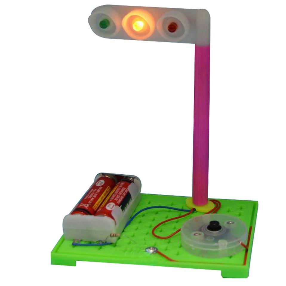 DIY eductional toys Simulation traffic lights