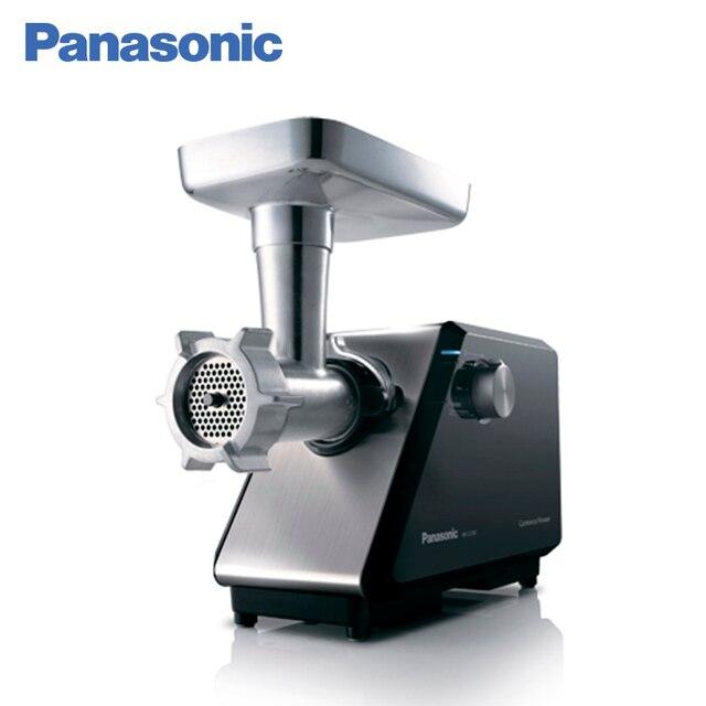 Panasonic MK-ZJ3500KTQ Мясорубка, 3500 Вт, Функция реверса, Переключатель режимов, Отсек для хранения насадок