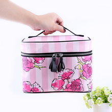 QEHIIE Cosmetic Bags High Quality Polyeste Makeup Bags Travel Organizer Necessary Beauty