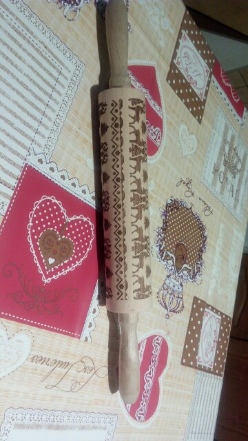 Christmas 3D Rolling Pin photo review