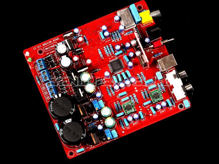 Assembly AK4399+PCM2706+WM8805 Decoder Board HIFI PCM2706 USB Audio DAC Board New official gloabl rom xiaomi redmi note 4x 4g 64gb smartphone black