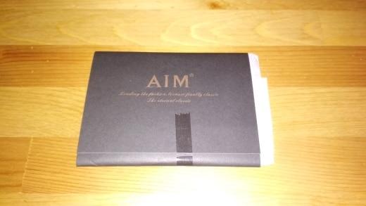 AIM Men's Genuine Leather Slim Card Holder Brand Designer Vintage Credit Cards Organizer Small Thin Purse Men Mini Wallet A295 photo review