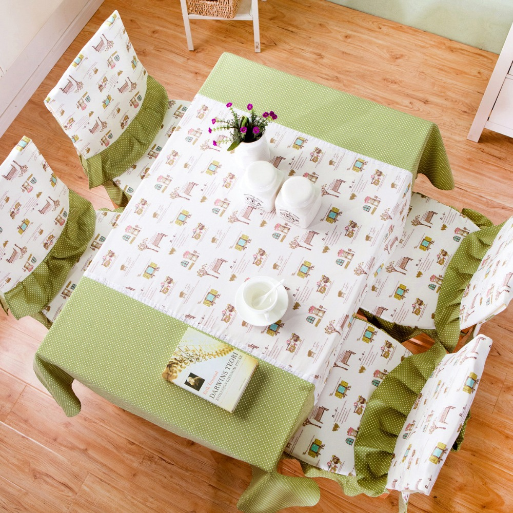 New Cotton Floral Non Slip Handmade Pastoral Style Fresh Look Tablecloth  Table Cover Backrest Cushion Home Decoration  In Tablecloths From Home U0026  Garden On ...