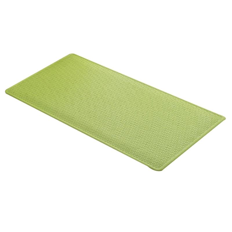 82x37cm Non-slip Shower Mat Massage Anti-slip Comfortable Bathroom Mat Sucker Safety Solid Color Bathroom Supplies