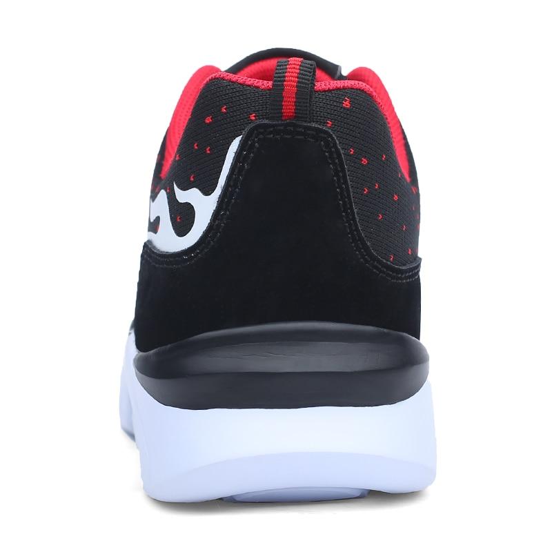 Breathable flying Weaving Mesh Running Shoes Men Light weight Sport Jogging Athletic sneakers fire Graffiti trend walker