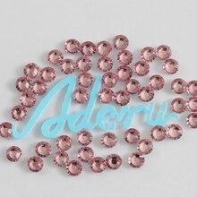 Aderu светло-розовые 706 супер блестящие бессвинцовые термоклеевые стразы для дизайна ногтей орнамент одежда обувь головные уборы украшение для шарфа