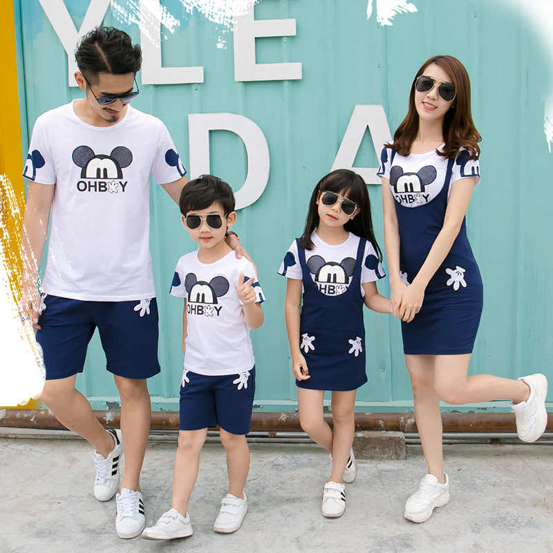 Family Matching Clothes National Shirts 2019 Father Mother