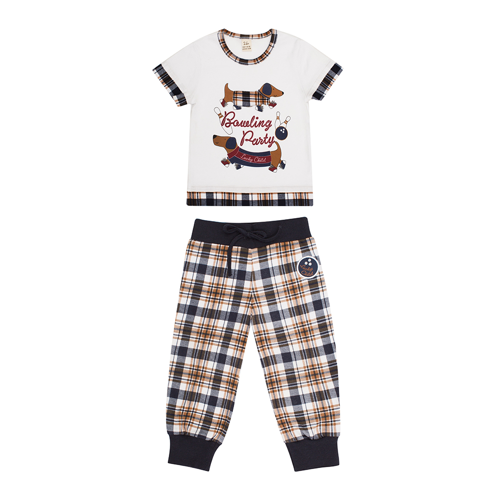 Pajama Sets Lucky Child for girls and boys 13-405 (3T-8T) Children clothes kids clothes pajama sets lucky child for boys 13 403 3t 8t children clothes kids clothes