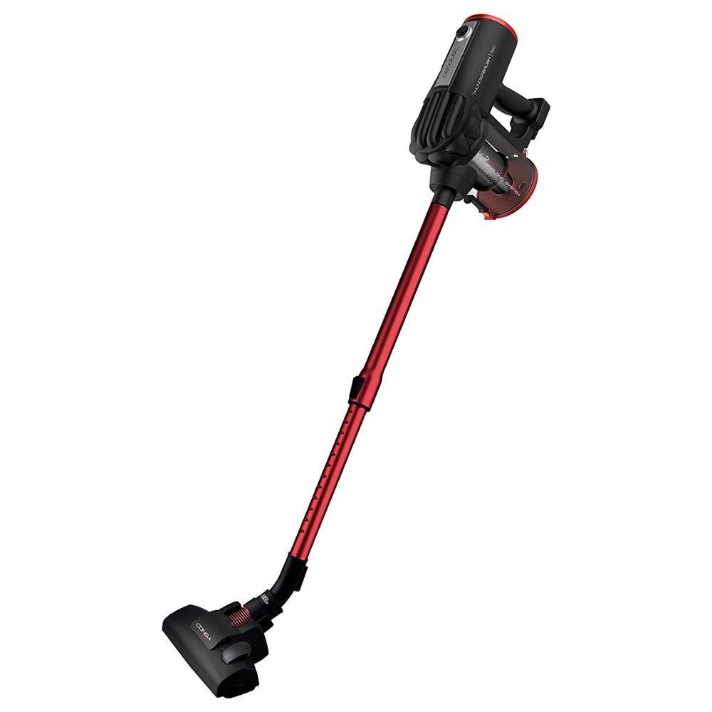 Conga Cecotec ThunderBrush 520 Upright Vacuum Cleaner e Mão, Tecnologia Ciclónica, Filtro HEPA, Vermelho