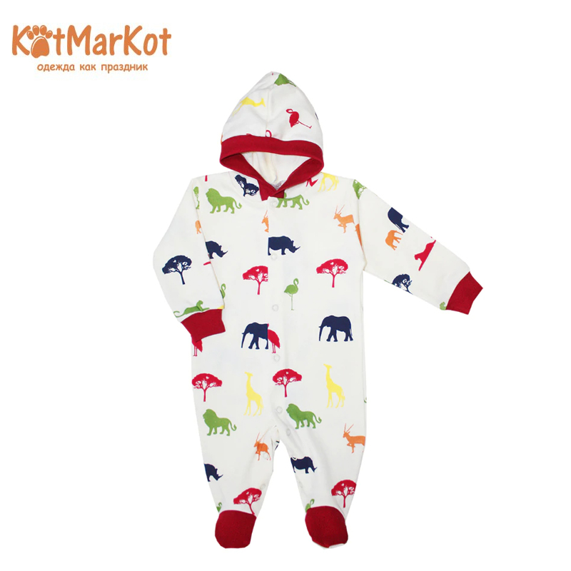 Jumpsuit Kotmarkot 6676  children clothing for baby girls kid clothes newborn baby boy girl infant warm cotton outfit jumpsuit romper bodysuit clothes