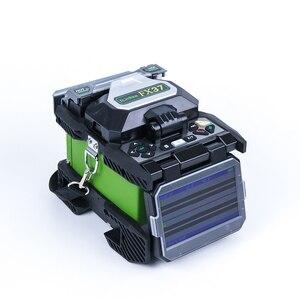 Image 5 - Komshine FX37 çekirdek hizalama taşınabilir optik fiber fusion splicer ile 7S hızlı ekleme ve 0.02 düşük ekleme kaybı