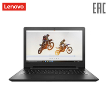 "Ноутбук Lenovo IP110-15IBR 15.6 ""/N3710/4 ГБ/500 ГБ/Intel 405/noODD/DOS/черный (80T7003NRK)(Russian Federation)"