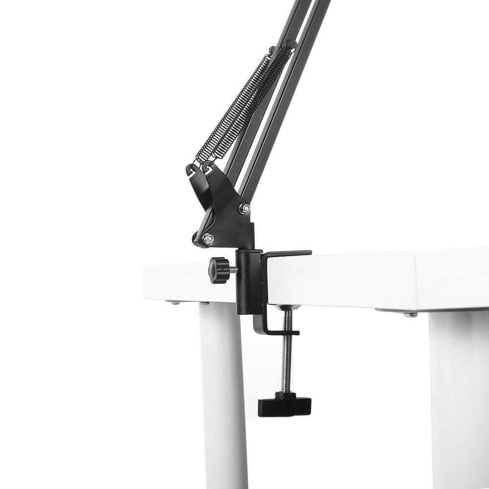 Unterhaltungselektronik Sporting Erweiterbar Aufnahme Mikrofon Suspension Boom Arm Ständer Halter Mit Clip Tisch Montage Clamp Für Studio Broadcast Schwarz Einfach Zu Verwenden Heimelektronik Zubehör