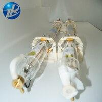 Precio barato 700MM longitud tubo láser 40W lámpara de vidrio para máquina de grabado láser CO2 ZuRong