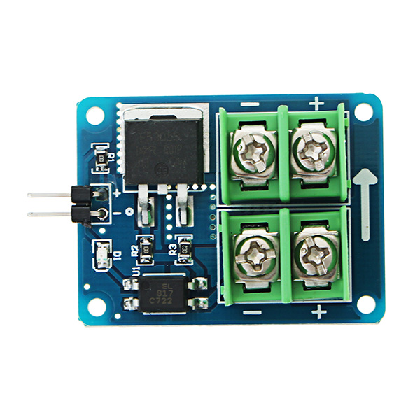 3V 5V Low Control High Voltage 12V 24V 36V Switch Mosfet Field Effect Module For Arduino Connect For IO MCU PWM Control Motor